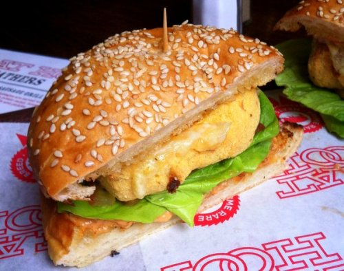 Meat Hook Macaroni Burger