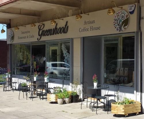 Greenshoots coffee shop
