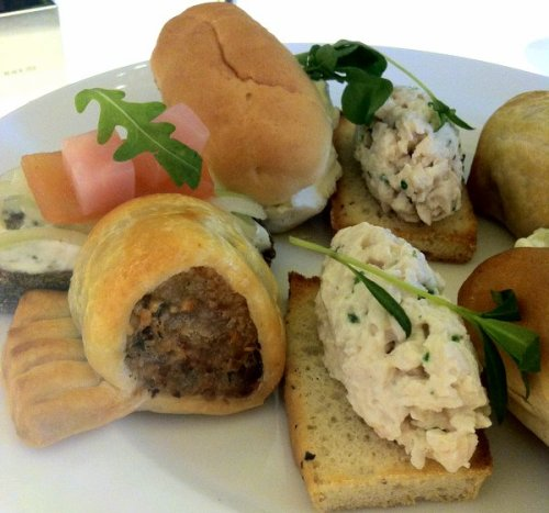A lovely savoury selection