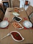 The feast awaits!
