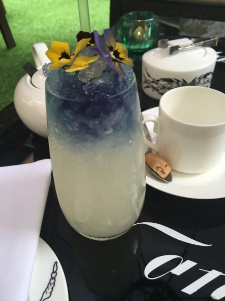 The L'Eau De Coco cocktail was the star of the show