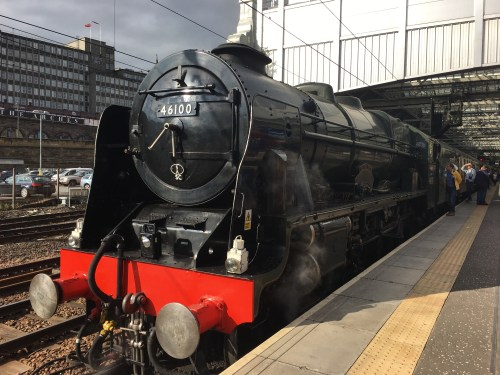 The Borders Railway Journey - No.46100 Royal Scot Steam Train Excursion - Edinburgh Waverley to Tweedbank