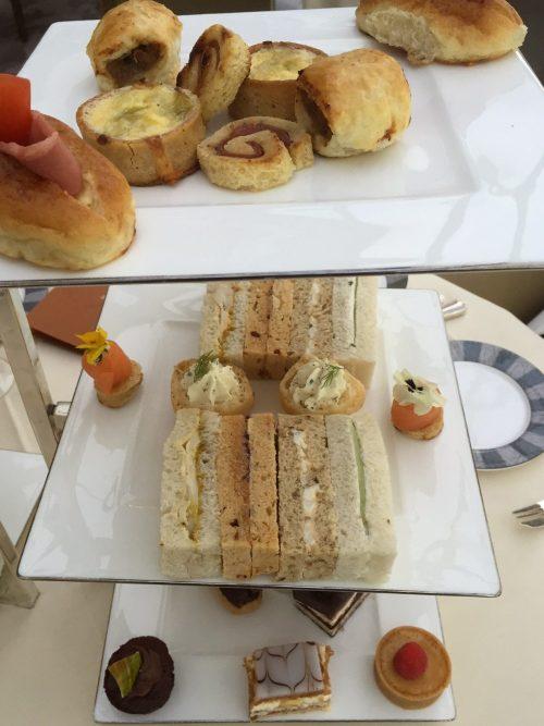Savoury & sweet treats at Gleneagles