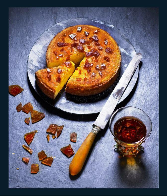 Glengoyne Whisky, Orange And Almond Cake