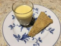 The simplest of desserts,  my lemon posset is always a winner