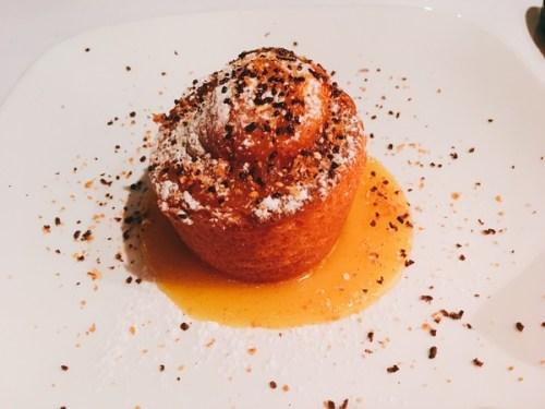 Orange scented cake with vanilla mascarpone