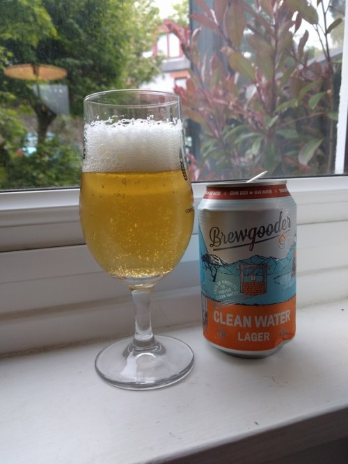 Brewgooder Clean Water Lager