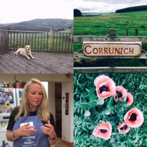 Corrunich - 'a barren, windy place'