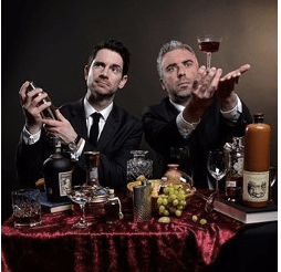 The Thinking Drinkers: - Pub Crawl - just one of the many Fringe shows about food and drink