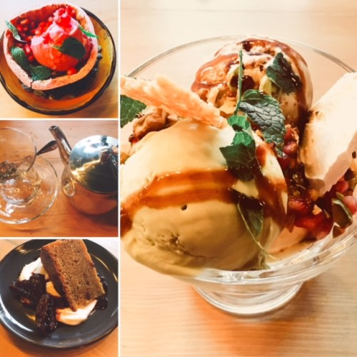 BABA's desserts - too many delicious ones to choose