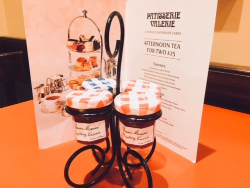 Patisserie Valerie's afternoon tea is the perfect pre-theatre dining spot for the Festival Theatre