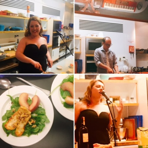 Comfort Food Cabaret - dinner and a fringe show rolled into one