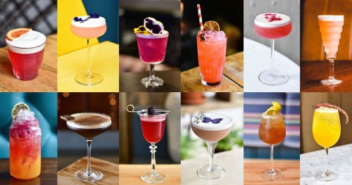 Some of the libations on offer at Edinburgh Cocktail Week