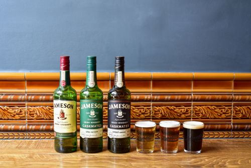 Jameson and Barney's Pairing at Empress Broughton Street