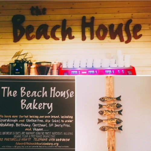 The Beach House Cafe at Portobello is a little gem of a place