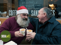 Give the gift of a Christmas dinner to a homeless person, thanks to Social Bite