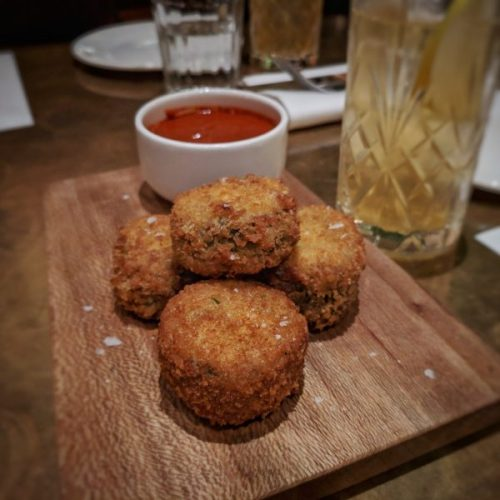 Haggis and hogget nuggets: feel the love.