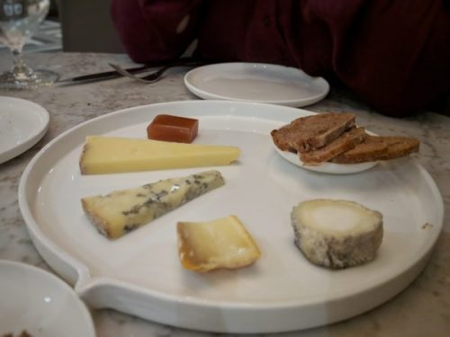 Cheese. Lovely, at the right temperature, and with some very nice walnut bread.