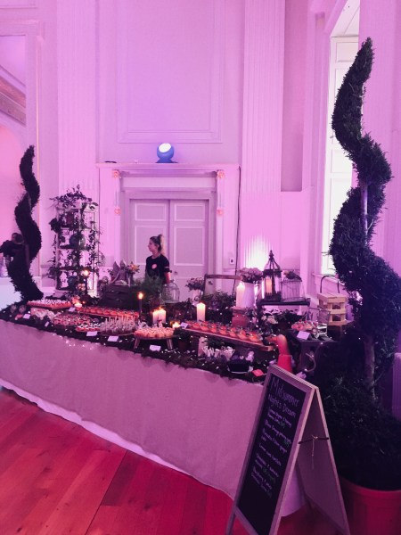 Appetite Events pulled out the stops with a forest of desserts