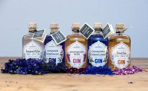 The Old Curiosity Distillery produce the Secret Garden Gin range