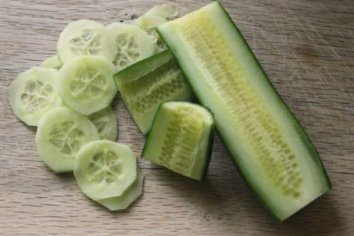 Cucumbers: floral and fresh.