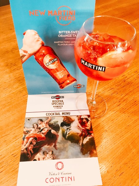 Martini Spritz - the new blood orange vermouth