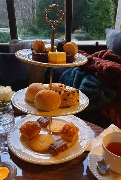 Afternoon tea: the sweet selection