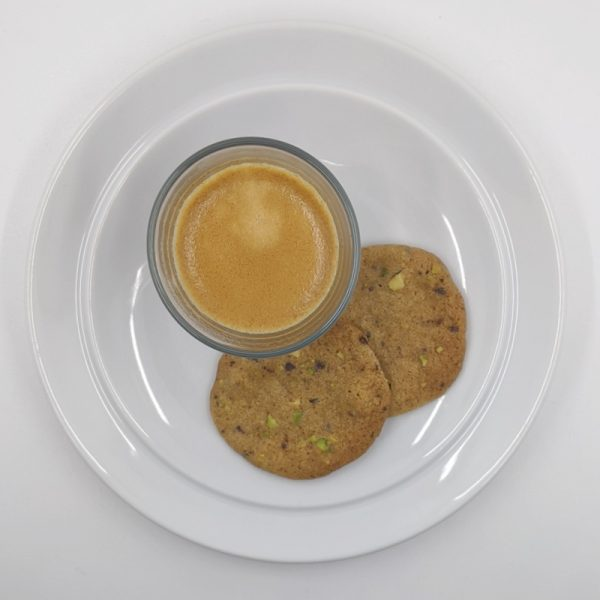 Espresso and biscuits? I don't mind if I do.