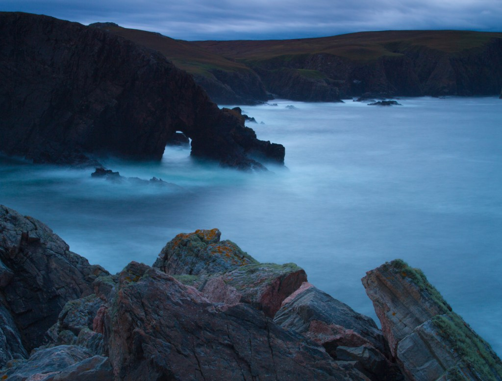 Looking West from Strathy Point by Neil Bain