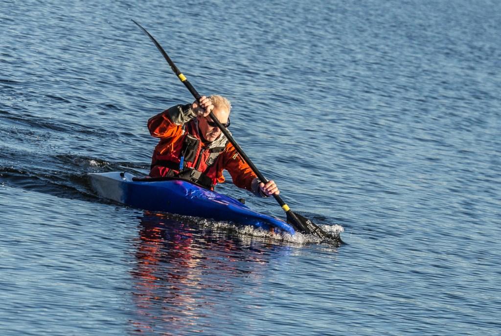 14_Canoe leader by Alastair Bisset