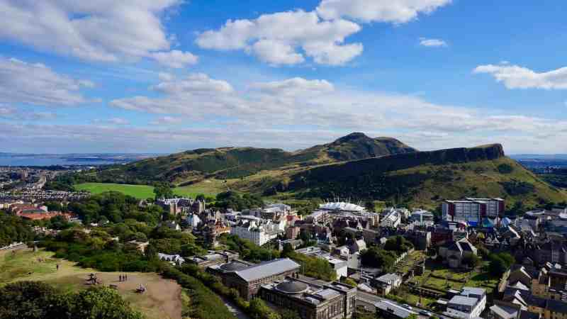 6 Locations in Edinburgh for Fantastic Views