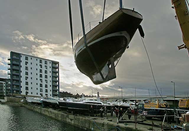 Around Edinburgh Edinburgh Waterfront Granton Middle Pier