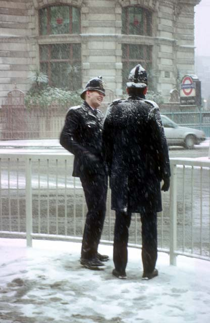 Photographs By Peter Stubbs London Police