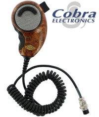 DELUXE WOOD GRAIN CB MICROPHONE