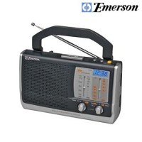 AM/FM WEATHER PORTABLE CLOCK RADIO