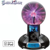 iPOD DOCKING STATION WITH PHOTON LIGHTNING BALL