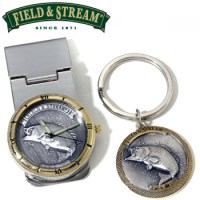 WILDLIFE MONEY CLIP WATCH AND KEYCHAIN