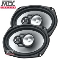 320 WATT 6x9 3-WAY SPEAKERS