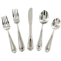 45 PIECE SERVICE FOR 8 FLATWARE
