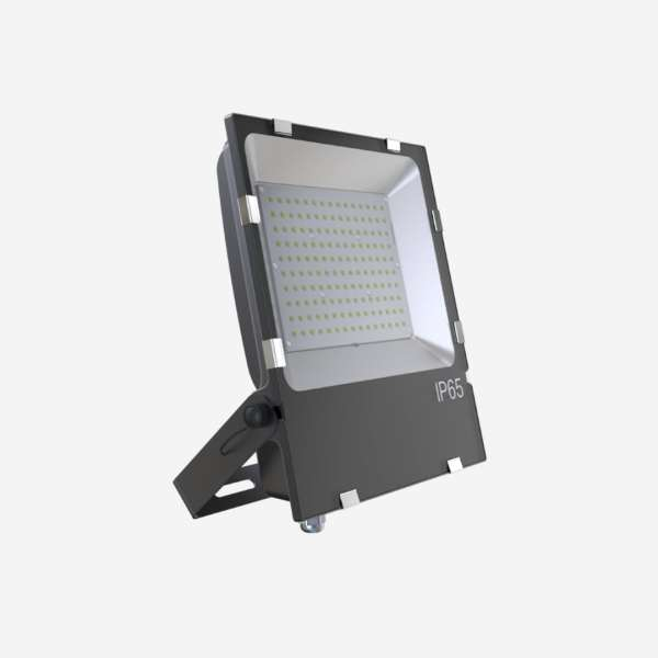 IP65 Flood Lamp LED lighting with black accents