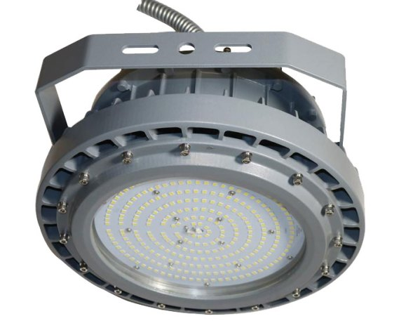 Hazardous Locations Luminaires C Series with silver encasing