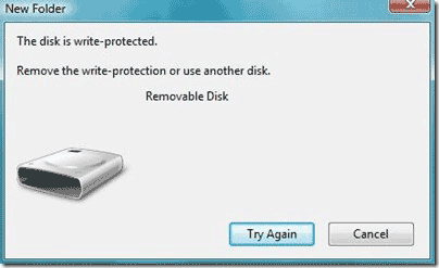 usb-removable-disk-write-protected. Solusi flash disk write protected