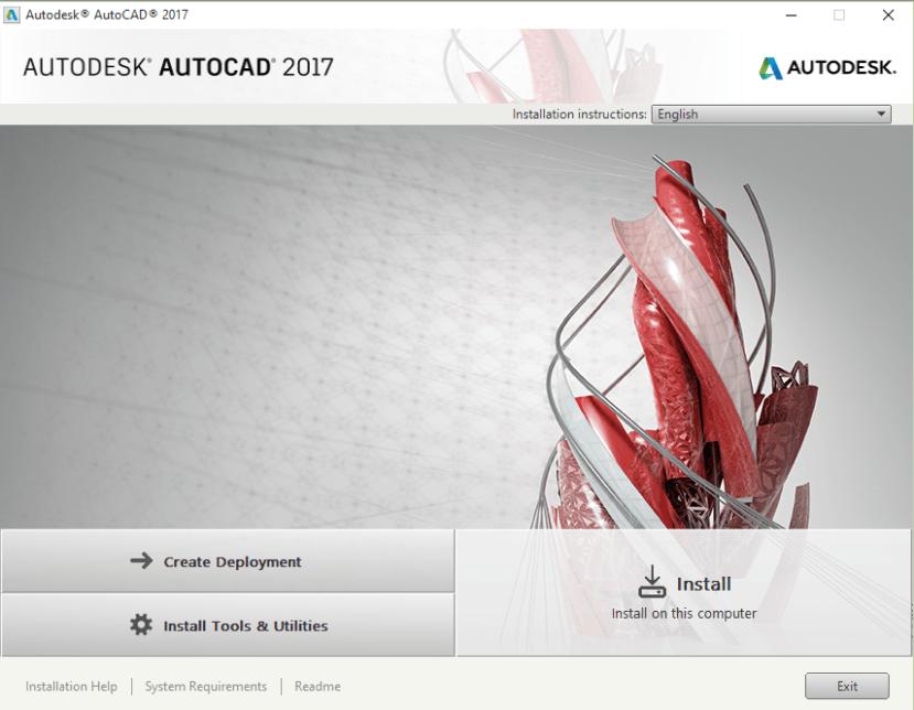 Cara Install Auto CAD 2017 64 bit-01