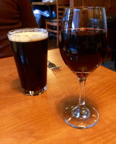 Beer and Wine at the Oyster & Thistle