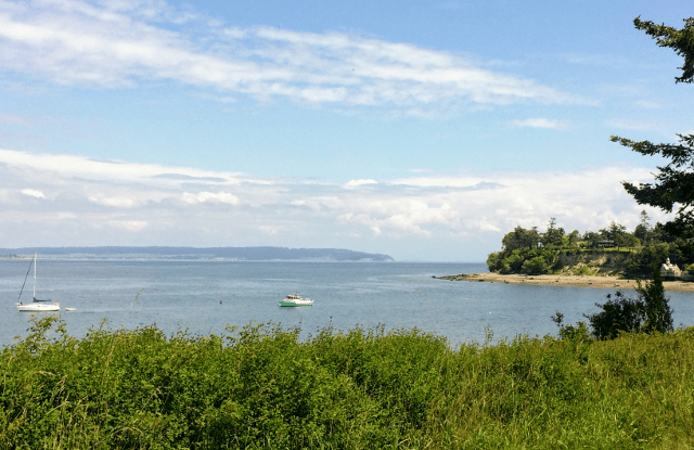 View of Penn Cove from Coupeville, WA