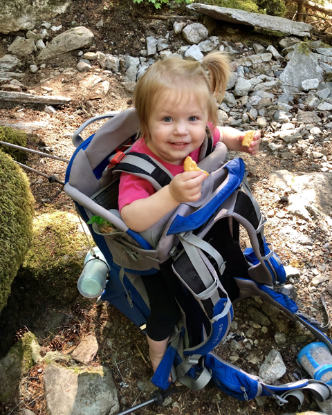 Backpacking with a toddler
