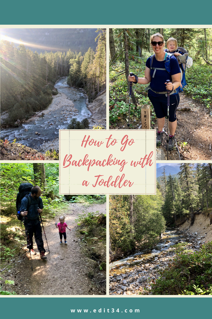 How to go backpacking with a toddler