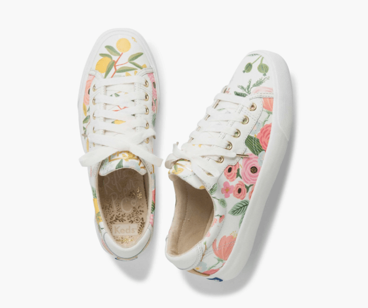Rifle Paper Co. Garden Party Crew Kick 75 Sneakers