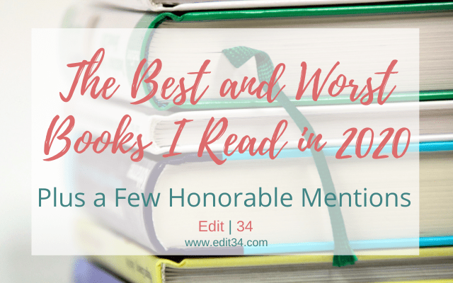 The Best and Worst Books I Read in 2020 (Plus Some Honorable Mentions)