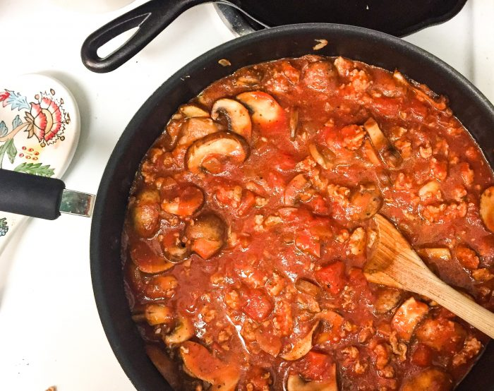 Small-Step Meal Prep: Easy Turkey and Mushroom Bolognese